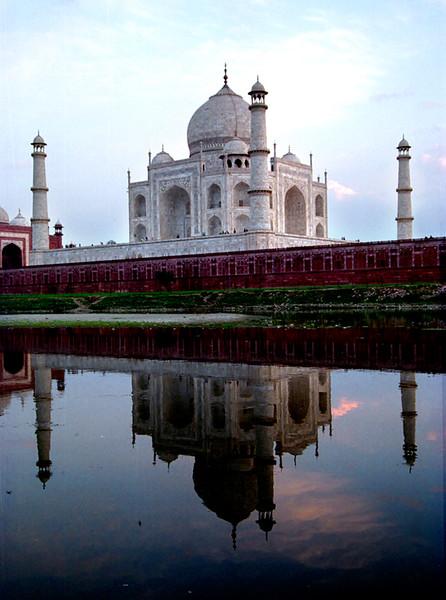 Agra, India, Taj Mahal from across Varuna River