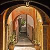 Alley, Tuscania, Italy