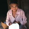 Laos, Hmong village woman