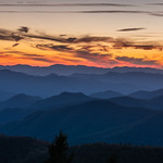 Night Falls on the Blue Ridge Parkway