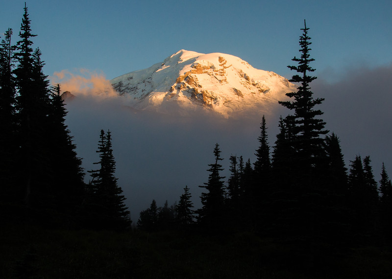 Mt Rainier from Spray Park