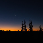Moon and Venus Sunrise