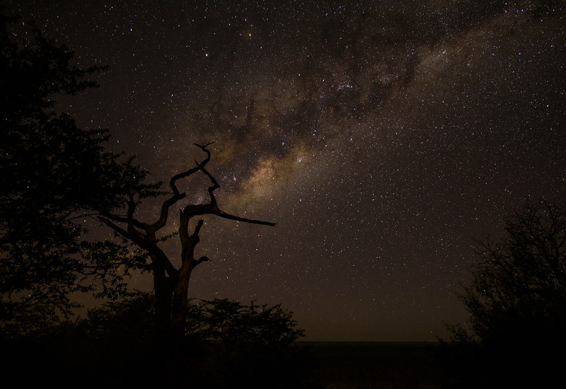 Milky Way over Zimbabwe