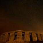 Meteorite over Stonehenge