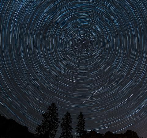 Geminids Star Trail