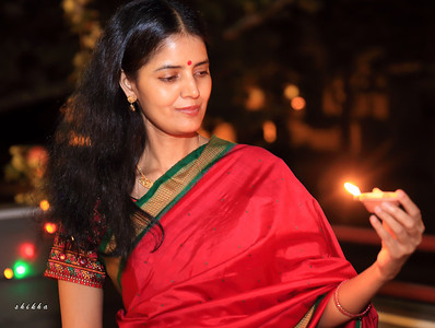 Celebrating the festival of light, Diwali