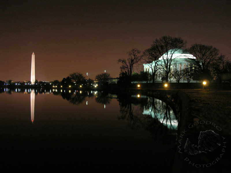 Washington and Jefferson Monuments