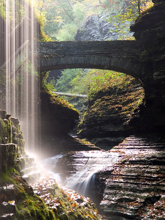 Watkins Glen, New York, October
