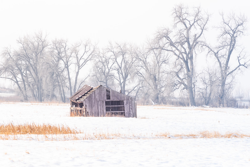 That barn in winter