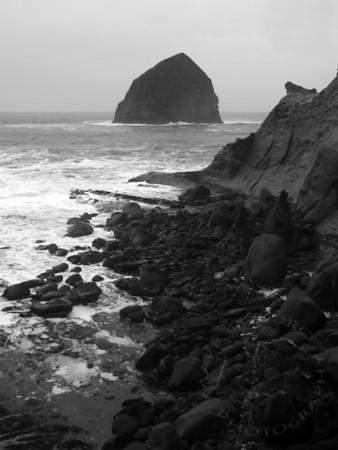 Haystack Rock, Cape Kiwanda, Oregon. =