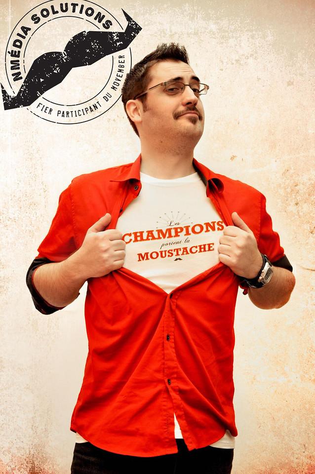 Photo de moi, édition de Jasmin Hamel, Drummondville. (pour Movember 2011, équipe Nmédia Solutions)