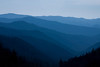Great Smoky Mountain National Park on the border or Tennessee and North Carolina.