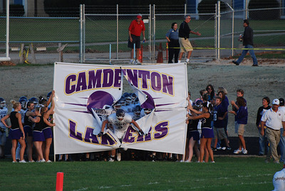High School football is king for the Camdenton Lakers.
