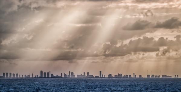 Miami in Silhouette