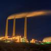 Power plant just outside of Page, Arizona.  USA