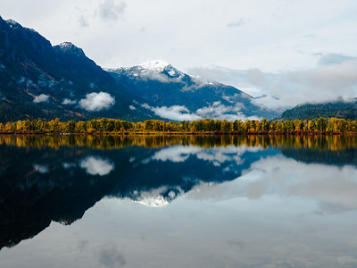 Lake Wenatchee Autumn