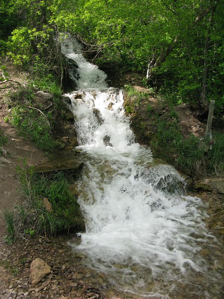 Perfect Waterfall, toward the trailhead... Lower Church Fork, Millcreek Canyon.