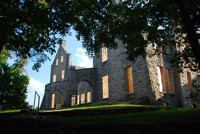 "Another view of the ""castle"" at Ha Ha Tonka State Park."