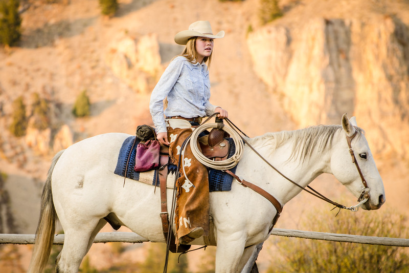 Yellowstone cowgirl