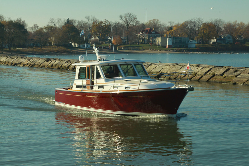 End of season voyage from Vermilion to Cleveland