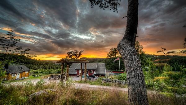 Sommeridyll på Eikeland