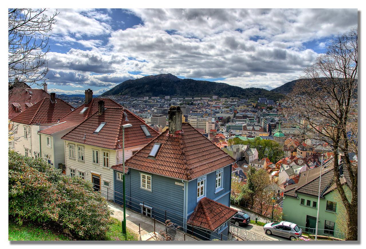 Bergen sett fra Skansen