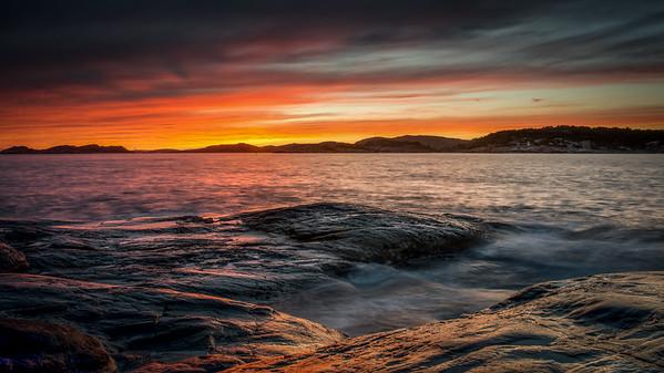 Hausten på Flekkerøya