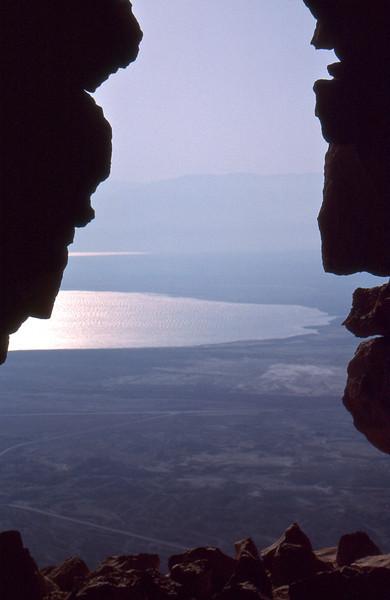 Dead Sea and Beyong to Jordan, from Masada, Israel