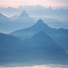 Sunrise from top of Mt Pilatus, near Lucerne, Switzerland