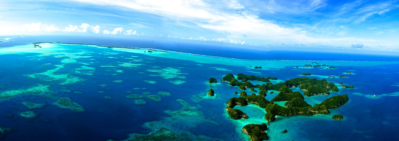 Palau Reef Panoramic