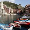 2012 - the scenic harbour in Vernazza, Cinque Terre.