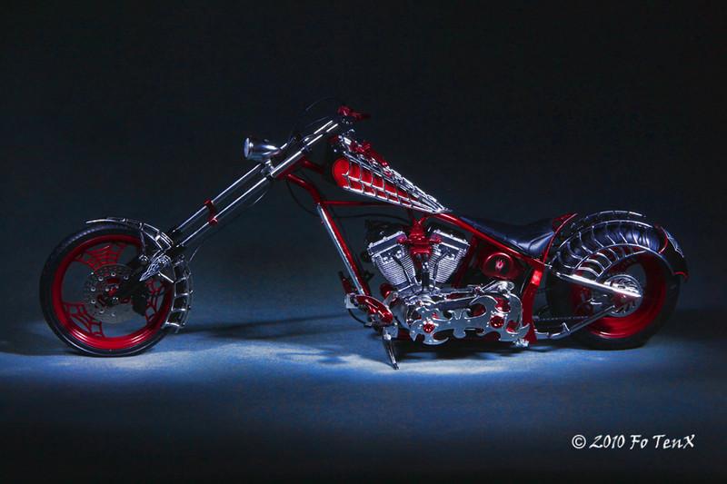 Black Widow Chopper