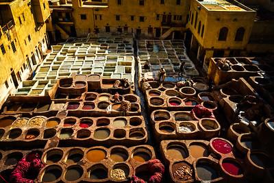 Fez Tanneries 1