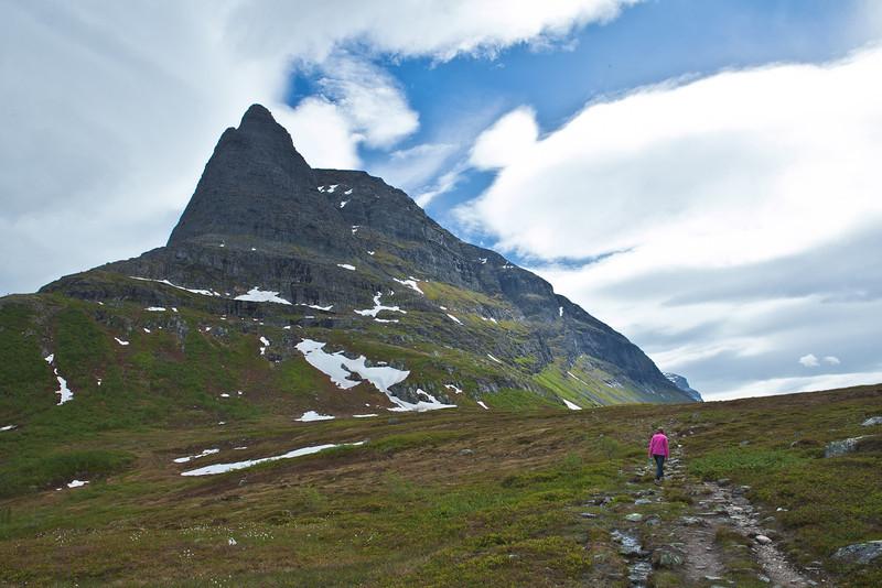 Innerdalstarnet (tower) a popular mt to hike