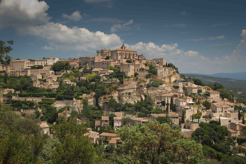 Most picturesque view of Gordes