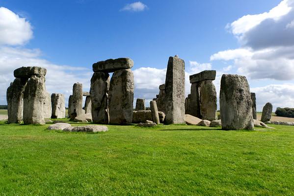 Stonehenge, England.  September, 2011