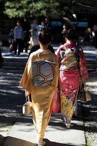 Kimonos... Tokyo, Japan. November, 2012
