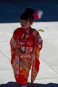 Shi-Chi-Son Ceremony. Tokyo, Japan. November, 2012