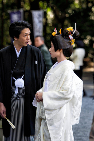 Japanese Wedding. Tokyo, Japan. November, 2012
