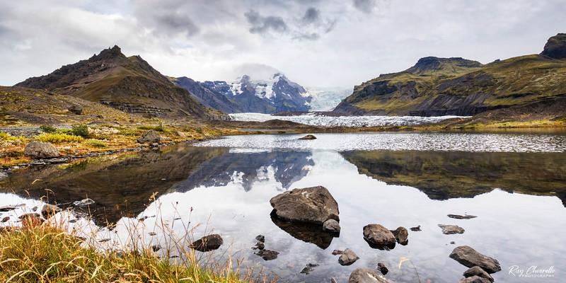 Approaching the Svínafellsjökull Glacier