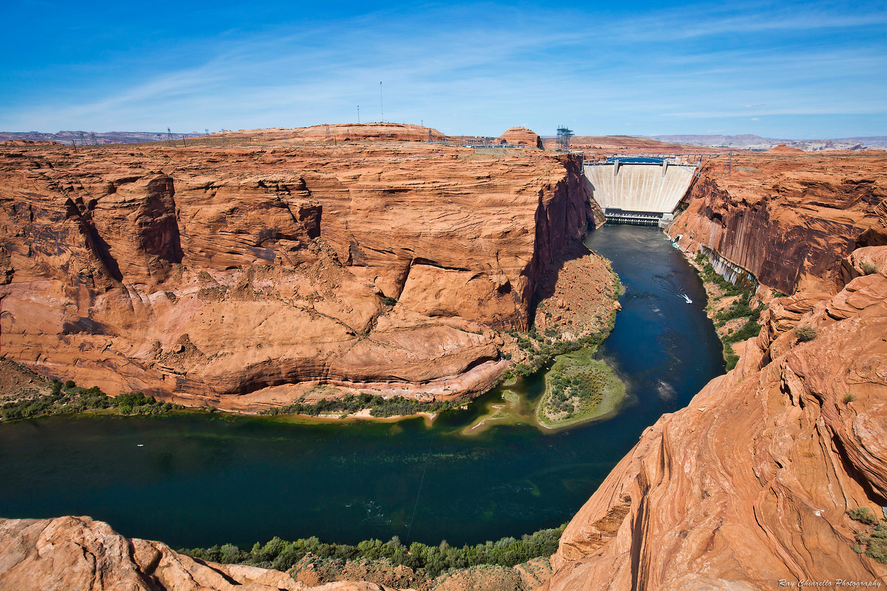 Glen Canyon Dam and the Colorado River