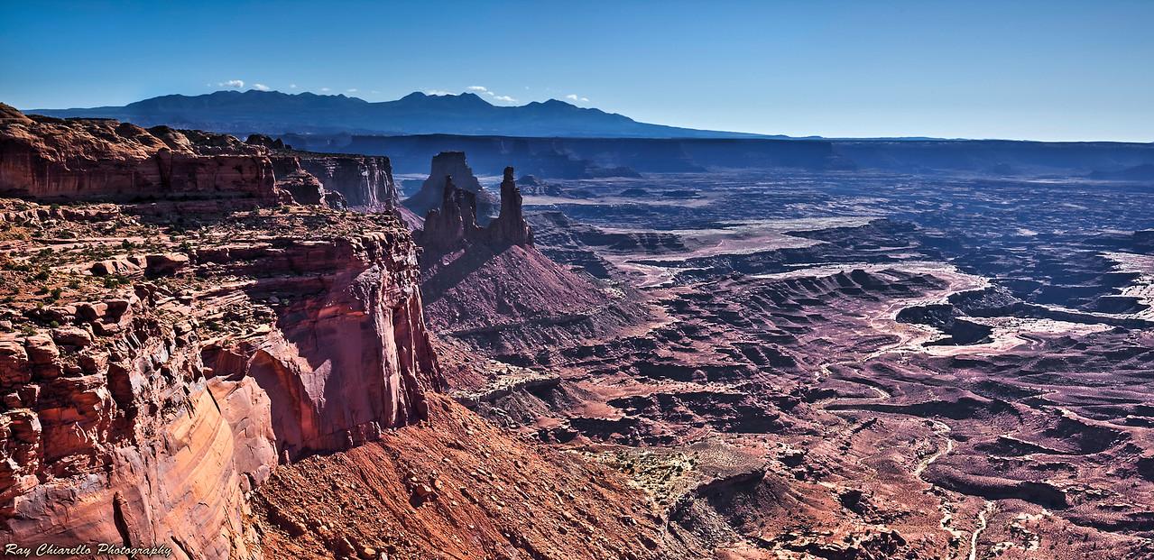 Canyon Behind Mesa Arch