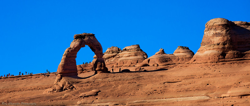 Delicate Arch (from lower viewpoint)