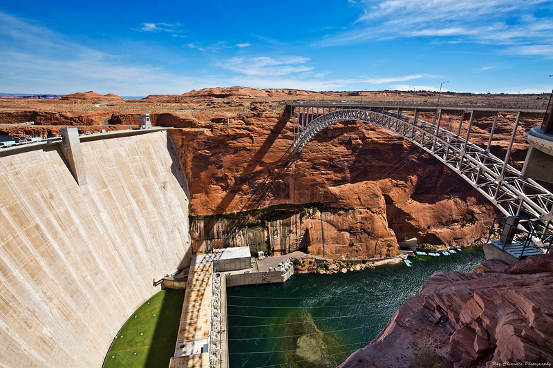 Glen Canyon Dam and Bridge