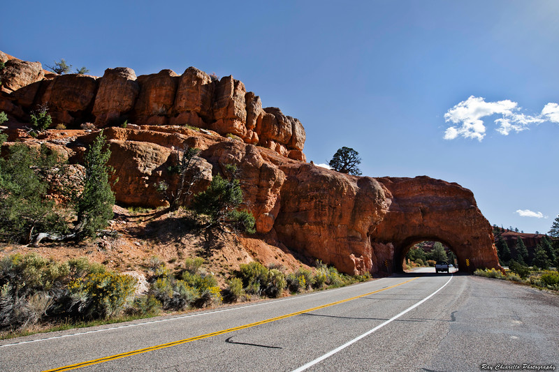 The Road to Bryce Canyon National Park