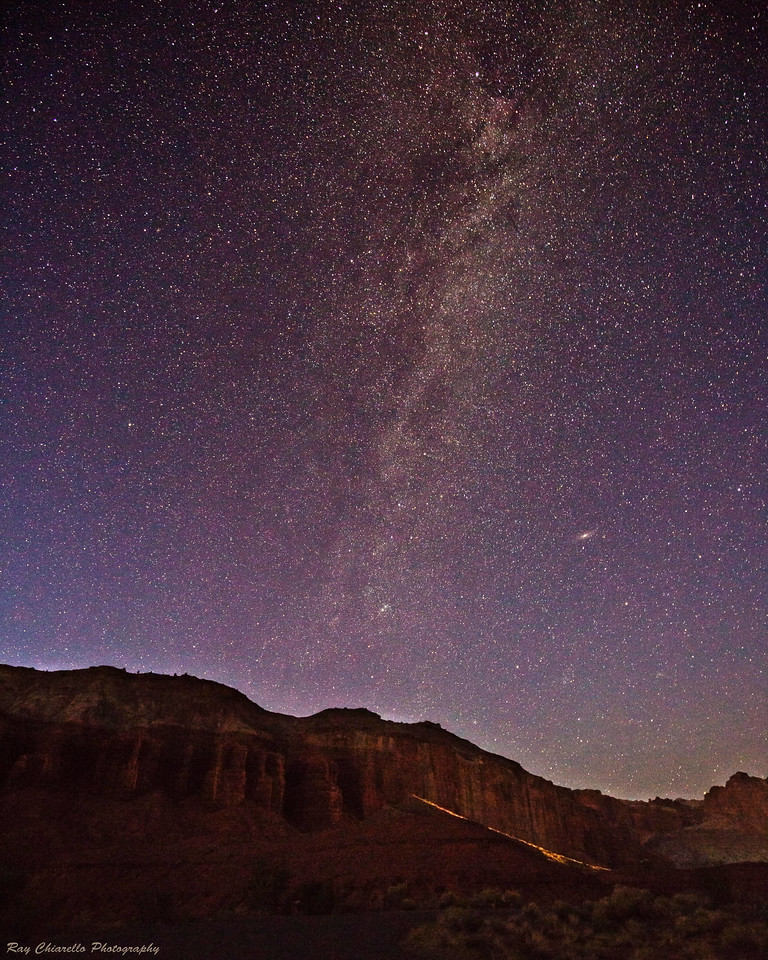 Milky Way Galaxy Over Capitol Reef National Park