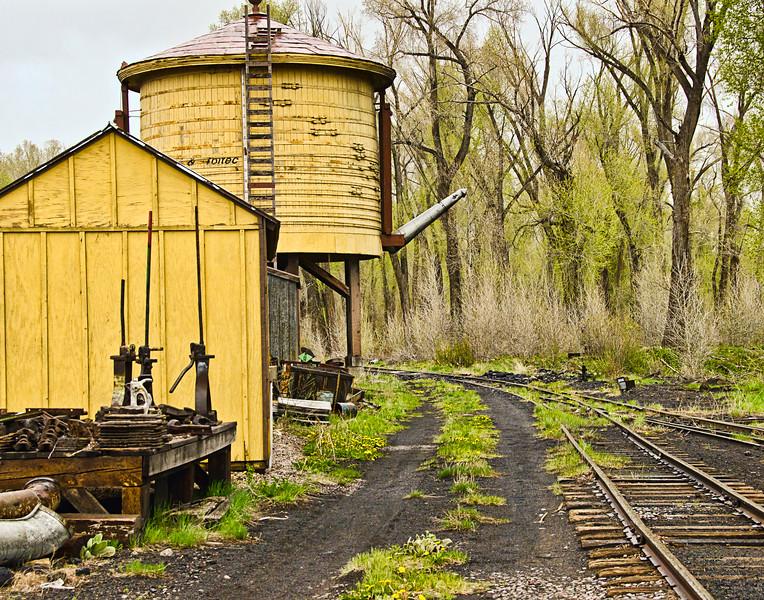 Water Tank for Cumbres & Toltec Scenic Railroad