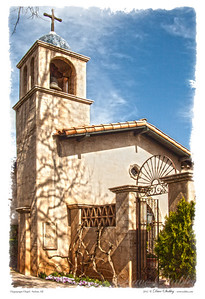 This is Tlaquepaque Chapel in Sedona, AZ.