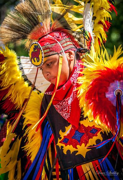 Red Feather Boy Dancer
