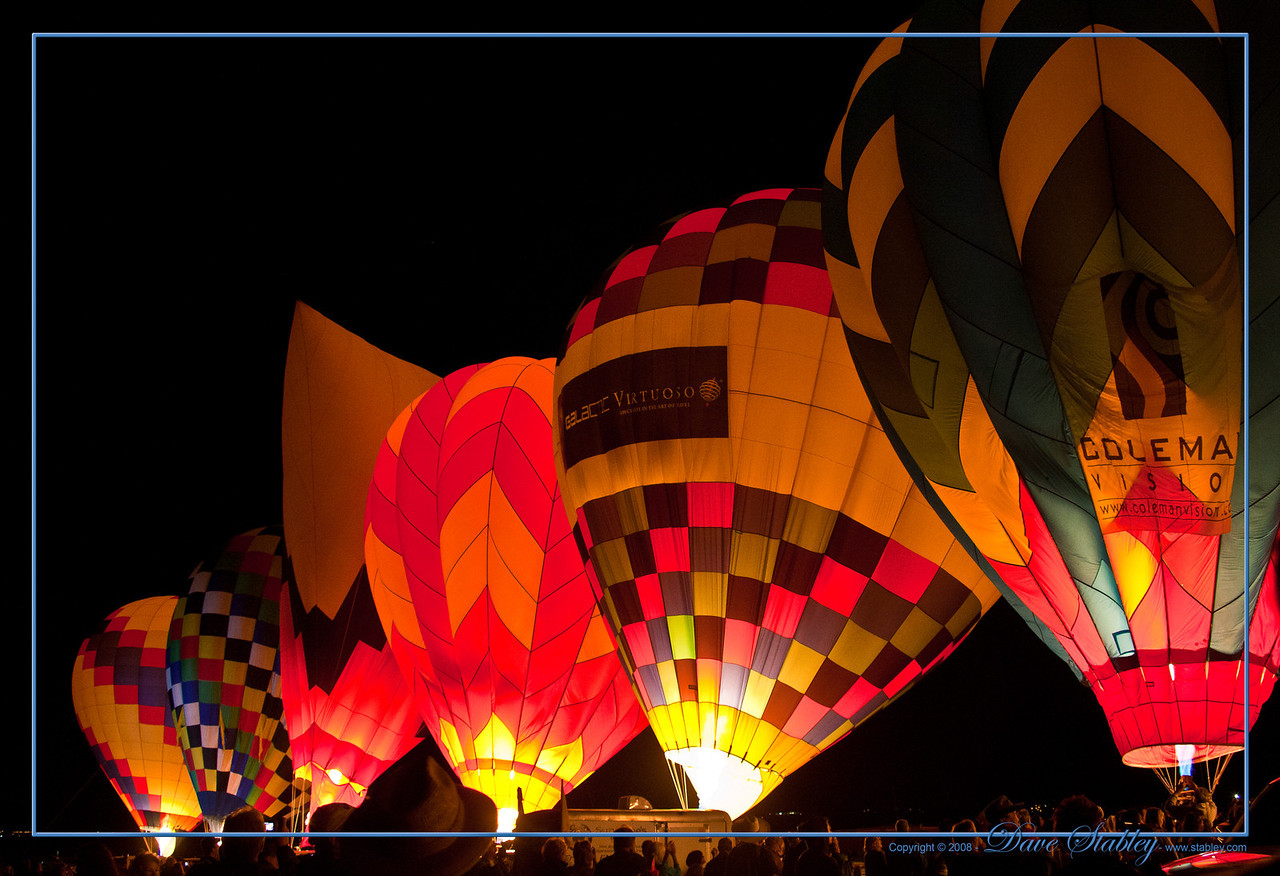 Dawn Patrol - Early in the morning, before the sun comes over the Sandias, before other balloonists are allowed to take flight, a group of brave pilots take off into the night to check out the conditions aloft.